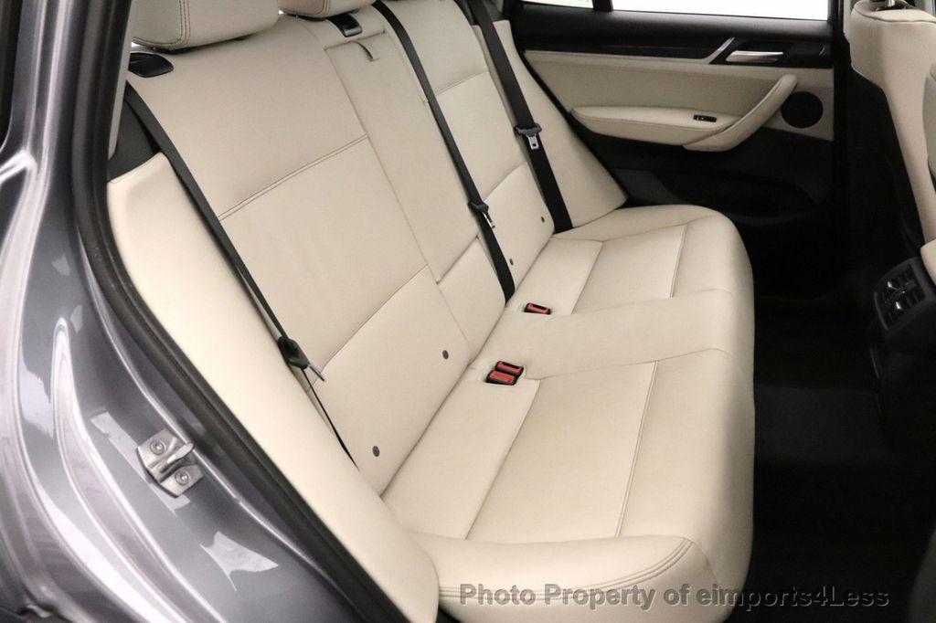 2016 BMW X3 CERTIFIED X3 xDrive28i PREMIUM PACKAGE AWD CAMERA NAV - 18518149 - 37
