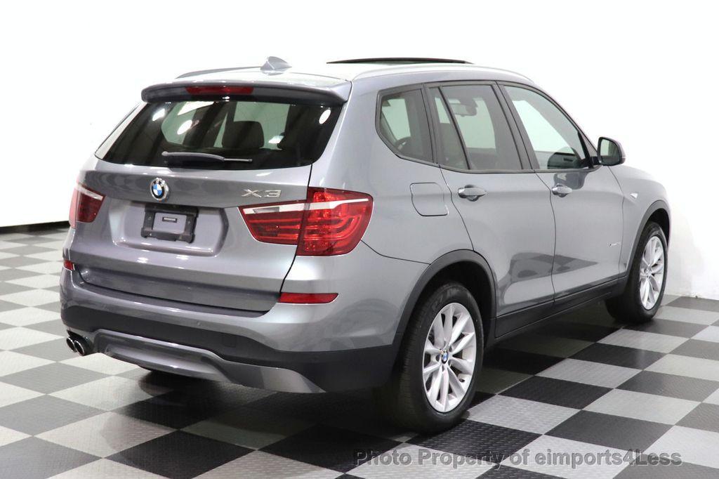 2016 BMW X3 CERTIFIED X3 xDrive28i PREMIUM PACKAGE AWD CAMERA NAV - 18518149 - 3