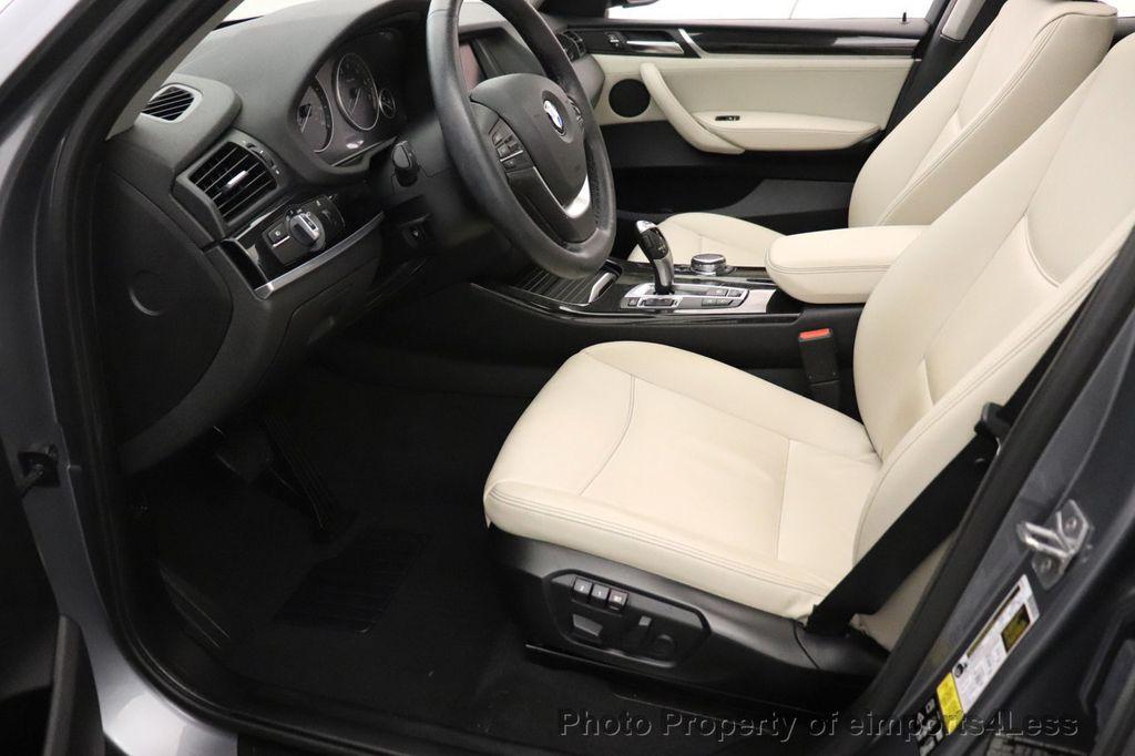 2016 BMW X3 CERTIFIED X3 xDrive28i PREMIUM PACKAGE AWD CAMERA NAV - 18518149 - 48