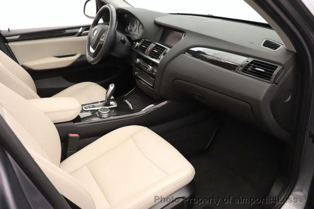 2016 BMW X3 CERTIFIED X3 xDrive28i PREMIUM PACKAGE AWD CAMERA NAV - 18518149 - 49