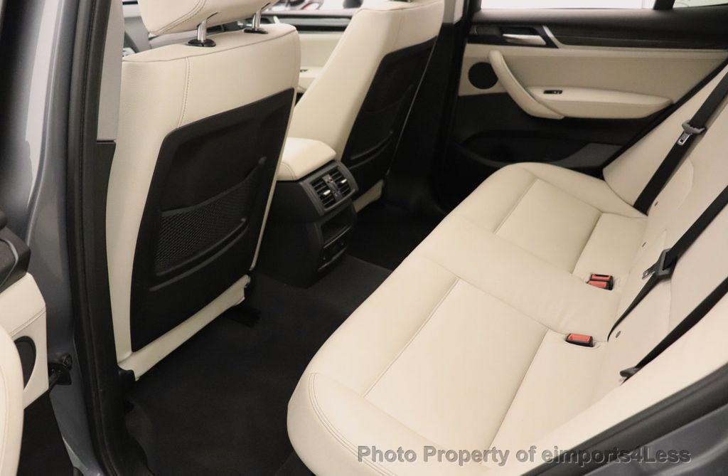 2016 BMW X3 CERTIFIED X3 xDrive28i PREMIUM PACKAGE AWD CAMERA NAV - 18518149 - 50
