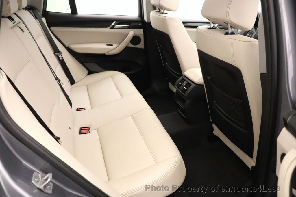 2016 BMW X3 CERTIFIED X3 xDrive28i PREMIUM PACKAGE AWD CAMERA NAV - 18518149 - 51