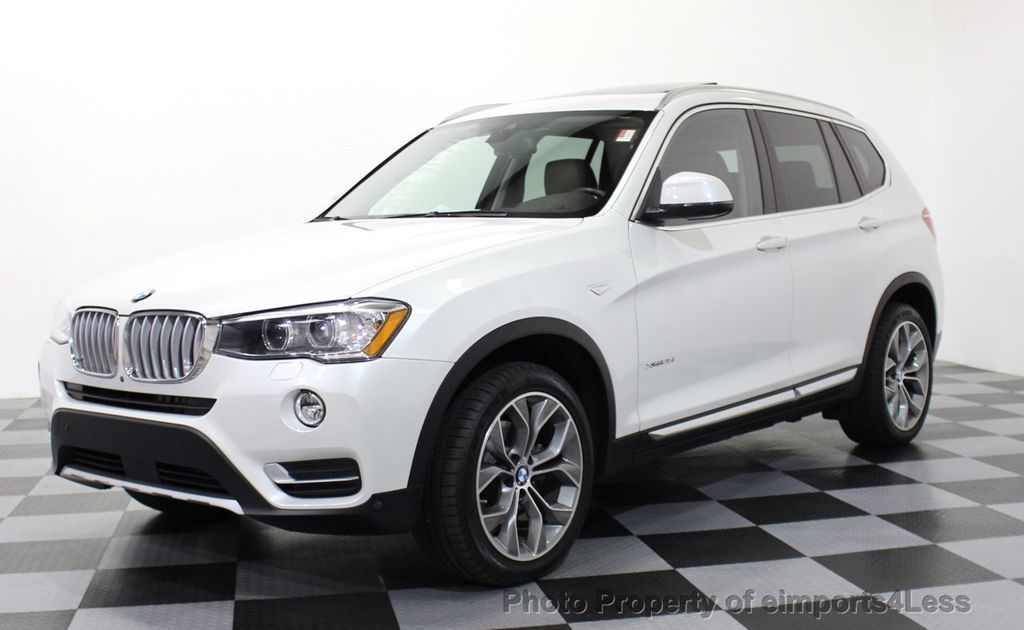 2016 Used Bmw X3 Certified X3 Xdrive35i Awd Xline Tech