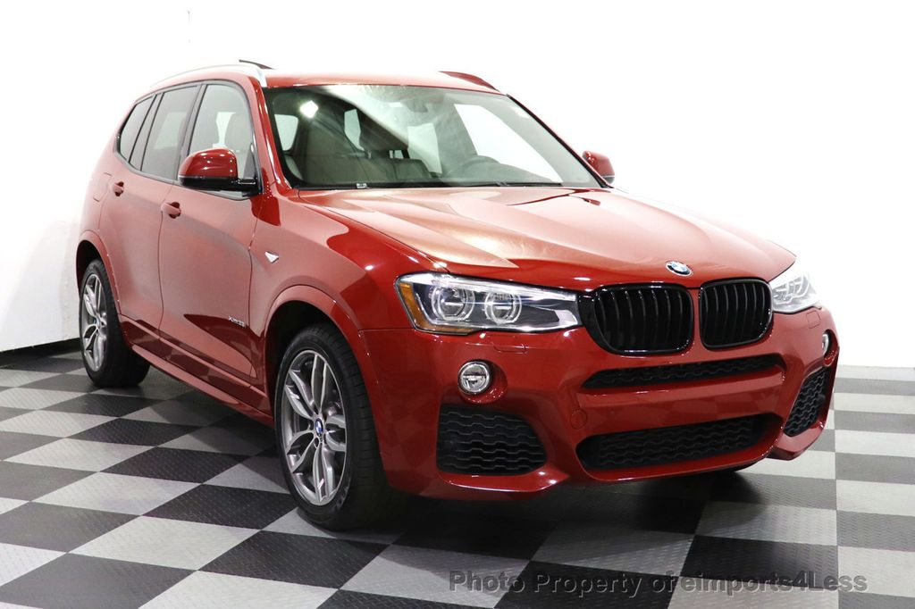 2016 BMW X3 CERTIFIED X3 xDrive35i M Sport AWD TECH HUD NAV CAM LED - 18561289 - 1