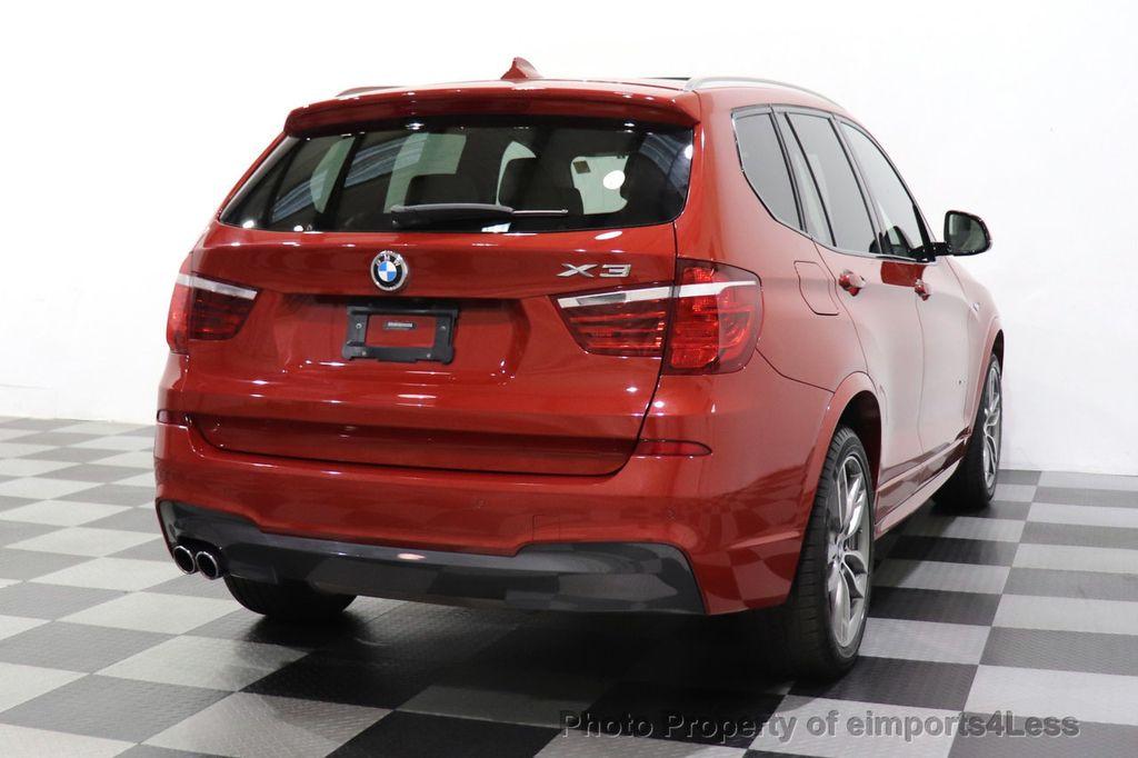 2016 BMW X3 CERTIFIED X3 xDrive35i M Sport AWD TECH HUD NAV CAM LED - 18561289 - 31