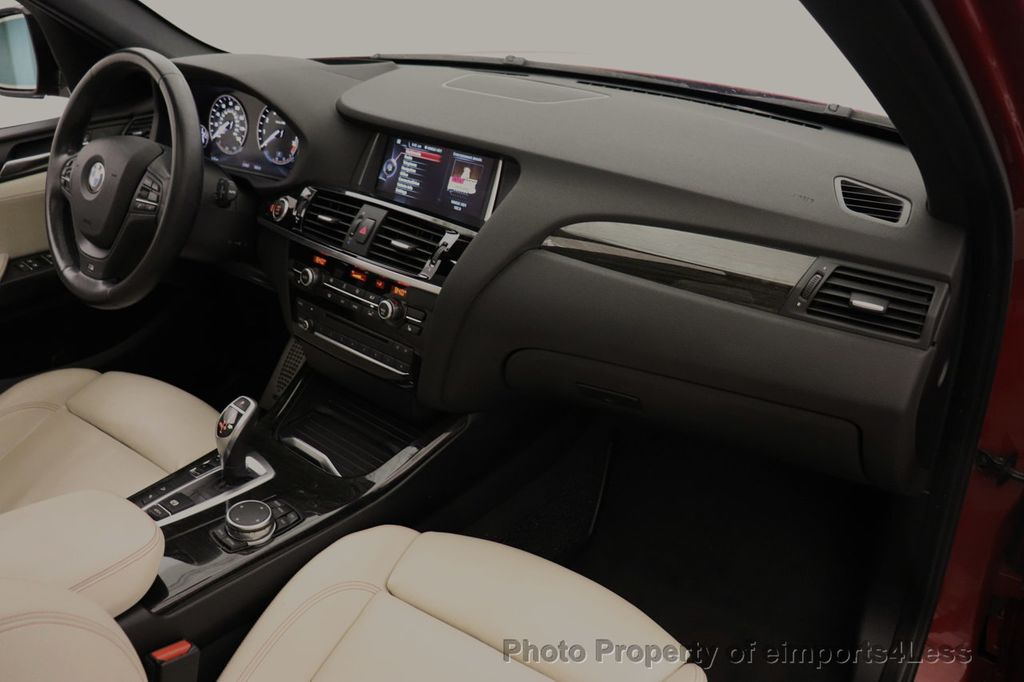 2016 BMW X3 CERTIFIED X3 xDrive35i M Sport AWD TECH HUD NAV CAM LED - 18561289 - 34