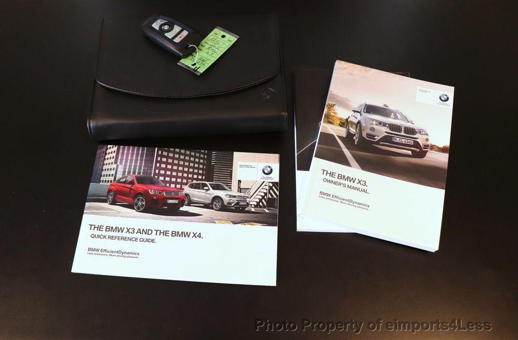 2016 BMW X3 CERTIFIED X3 xDrive35i M Sport AWD TECH HUD NAV CAM LED - 18561289 - 39