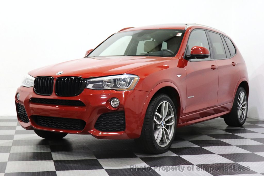 2016 BMW X3 CERTIFIED X3 xDrive35i M Sport AWD TECH HUD NAV CAM LED - 18561289 - 44