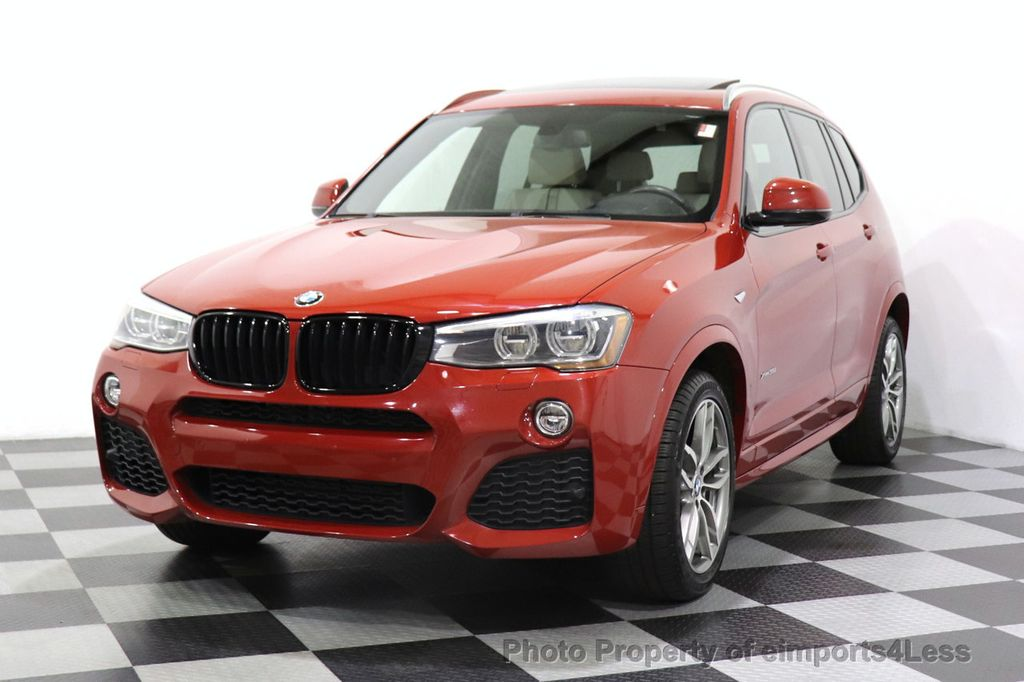 2016 BMW X3 CERTIFIED X3 xDrive35i M Sport AWD TECH HUD NAV CAM LED - 18561289 - 52
