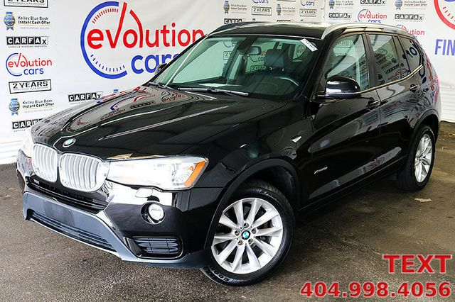 2016 Used Bmw X3 Xdrive28i At Evolution Cars Serving Conyers Ga Iid 20215505