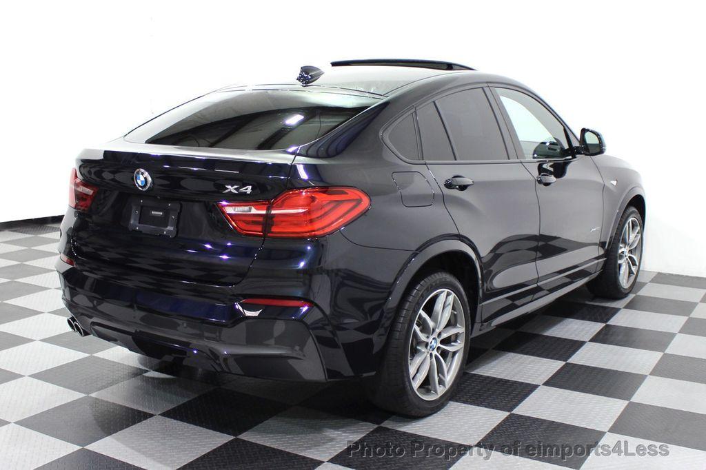 2016 BMW X4 CERTIFIED X4 xDRIVE35i M Sport AWD TECH CAMERA HUD NAV - 18081087 - 33