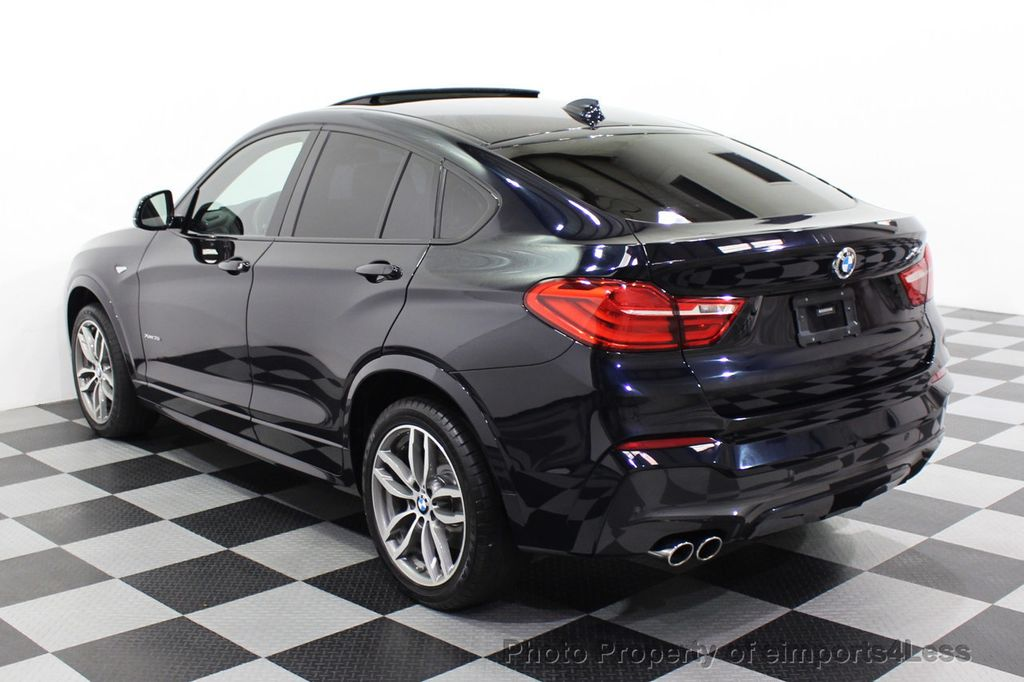 2016 BMW X4 CERTIFIED X4 xDRIVE35i M Sport AWD TECH CAMERA HUD NAV - 18081087 - 47