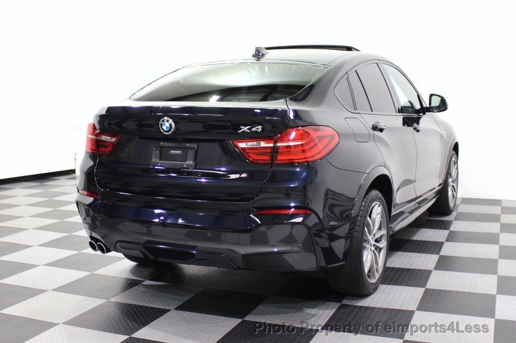 2016 BMW X4 CERTIFIED X4 xDRIVE35i M Sport AWD TECH CAMERA HUD NAV - 18081087 - 56
