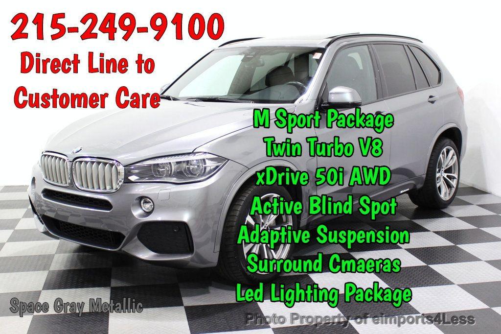 2016 BMW X5 CERTIFIED BMW X5 xDrive50i M Sport AWD Blind Spot CAM NAV - 18257413 - 0