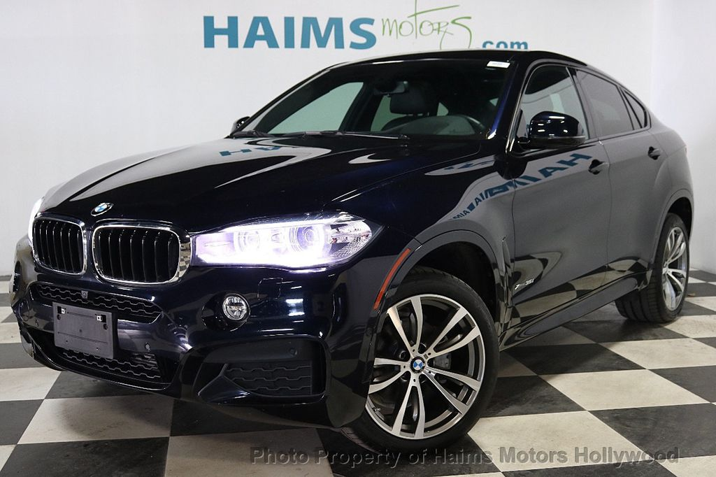 2016 BMW X6 xDrive35i - 18011781 - 1