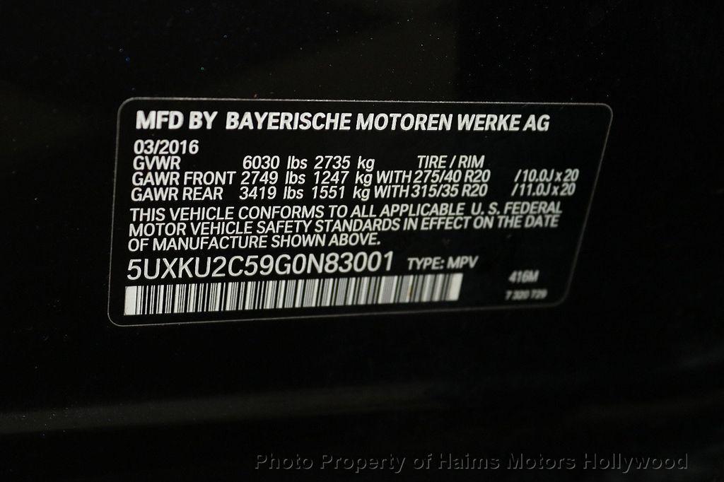 2016 BMW X6 xDrive35i - 18011781 - 41