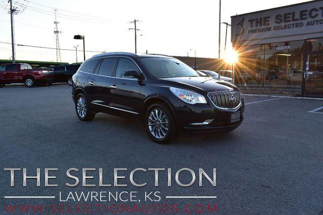 Buick Enclave Seating Capacity >> 2016 Used Buick Enclave Awd Premium W Dual Moonroofs 3rd Row Seating At The Selection Serving Kansas City Topeka Ks Iid 19591257