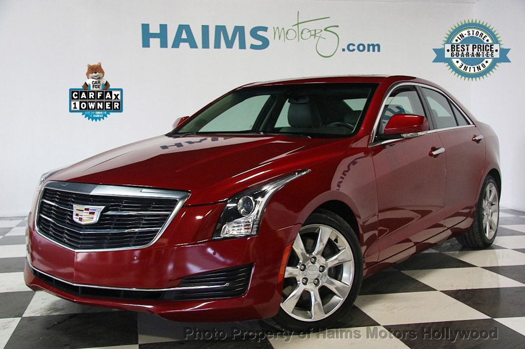 2016 Cadillac ATS Sedan 4dr Sedan 2.0L Luxury Collection RWD - 17375736 - 0