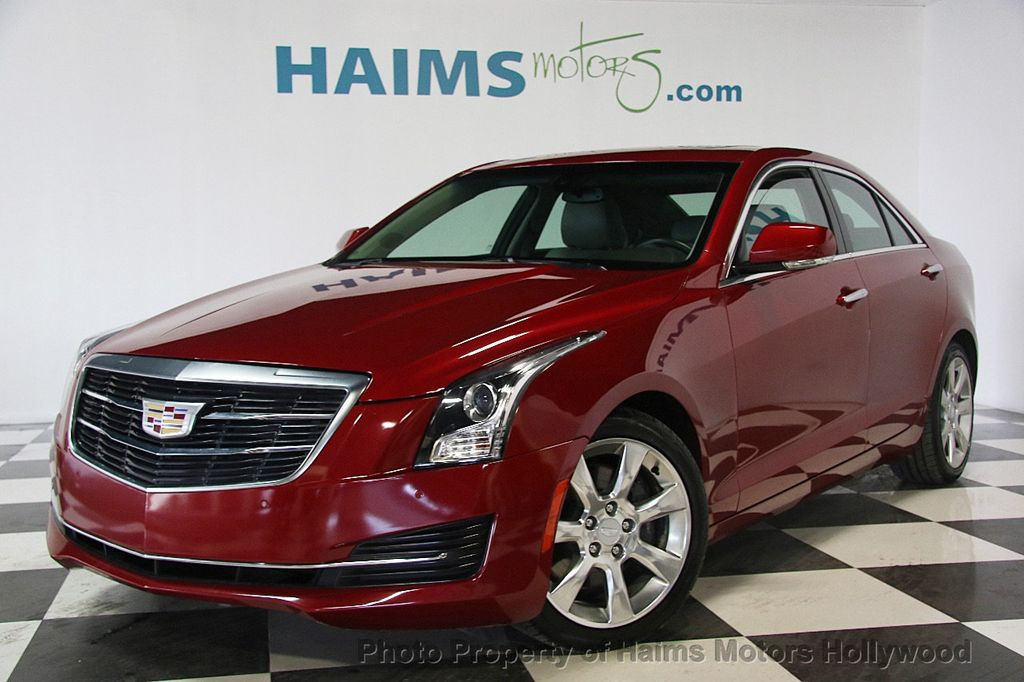 2016 Cadillac ATS Sedan 4dr Sedan 2.0L Luxury Collection RWD - 17375736 - 1