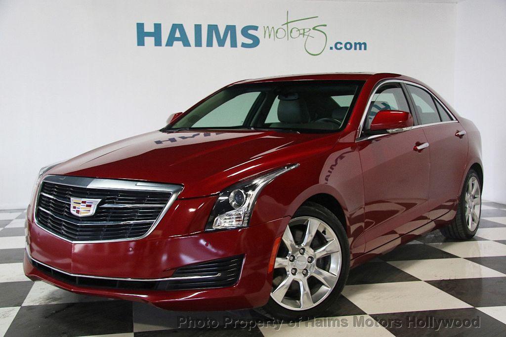 2016 Cadillac Ats Sedan 4dr 2 0l Luxury Collection Rwd 17375736 1