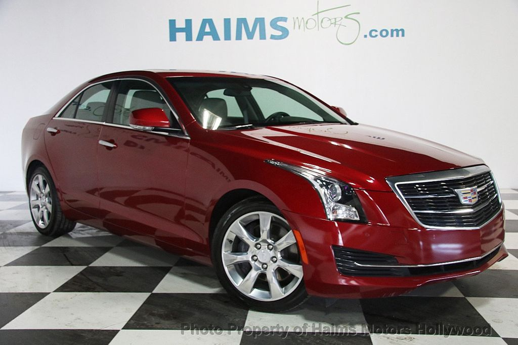 2016 Cadillac ATS Sedan 4dr Sedan 2.0L Luxury Collection RWD - 17375736 - 3