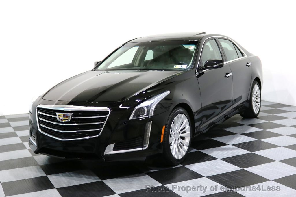 2016 Cadillac Cts Sedan Certified 2 0t Awd Luxury Collection Camera Navi 17048602