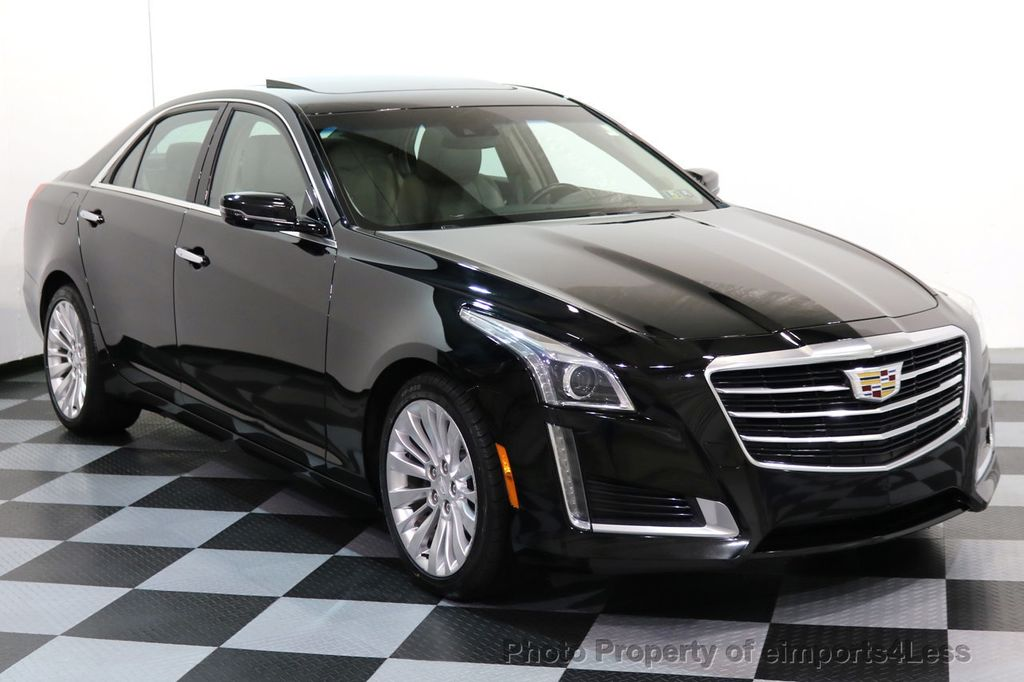 2016 used cadillac cts sedan certified cts 2 0t awd luxury collection camera navi at. Black Bedroom Furniture Sets. Home Design Ideas