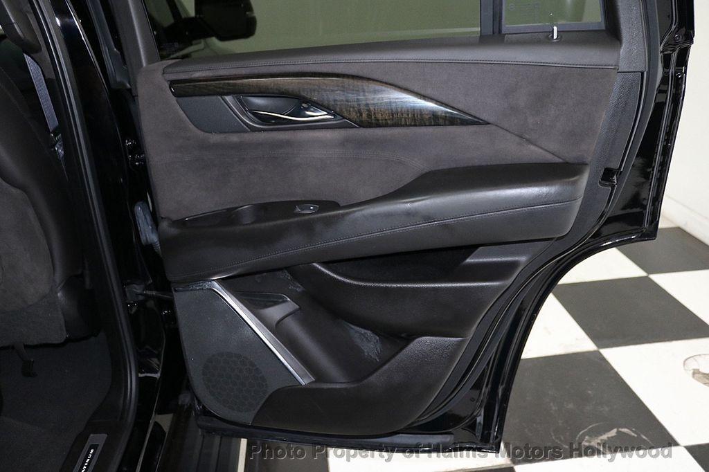 2016 Cadillac Escalade 2WD 4dr Platinum - 18528224 - 12