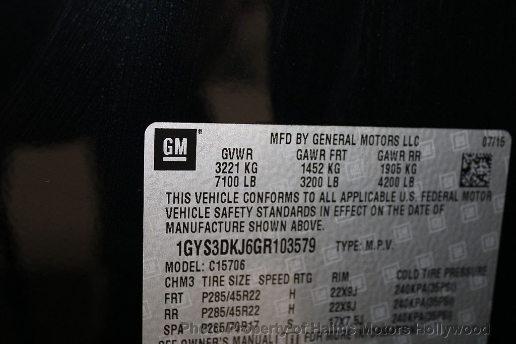 2016 Cadillac Escalade 2WD 4dr Platinum - 18528224 - 41