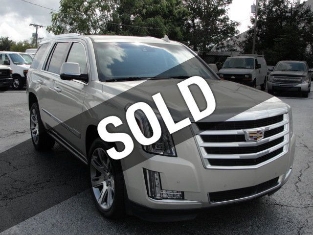2016 Cadillac Escalade ESCALADE PREMIUM AWD-22S-NAVIGATION-KONA LEATHER-DVD-QUADS - 18136758 - 0