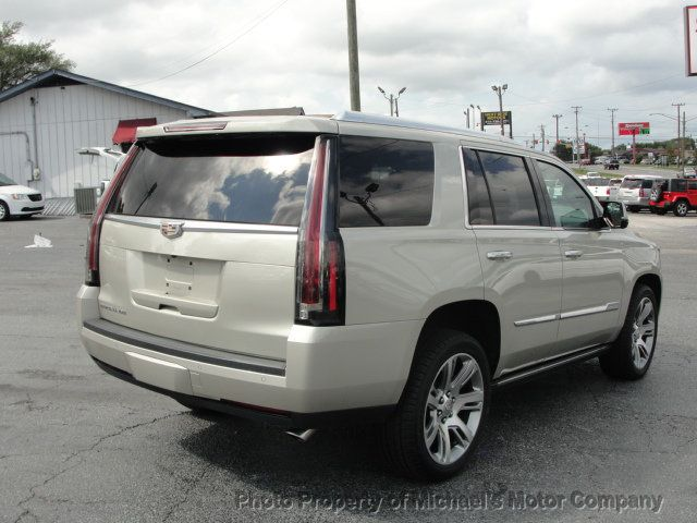 2016 Cadillac Escalade ESCALADE PREMIUM AWD-22S-NAVIGATION-KONA LEATHER-DVD-QUADS - 18136758 - 3