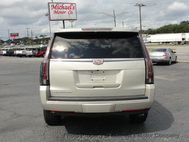 2016 Cadillac Escalade ESCALADE PREMIUM AWD-22S-NAVIGATION-KONA LEATHER-DVD-QUADS - 18136758 - 4