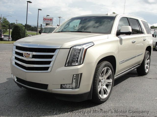 2016 Cadillac Escalade ESCALADE PREMIUM AWD-22S-NAVIGATION-KONA LEATHER-DVD-QUADS - 18136758 - 8