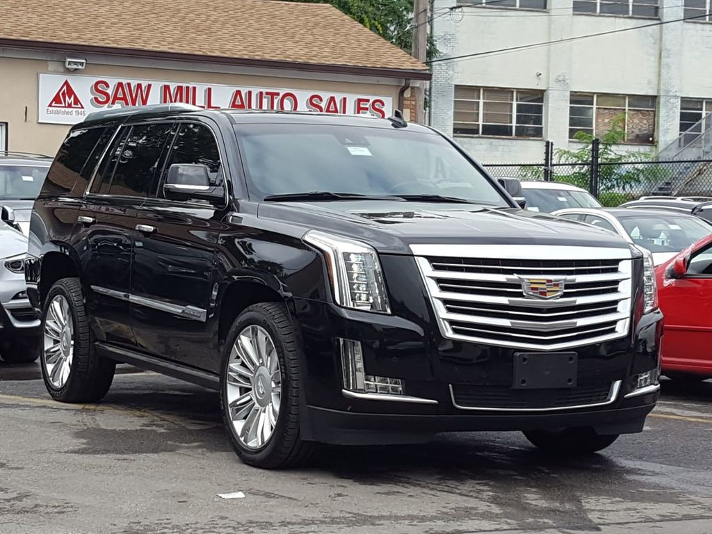 2016 Used Cadillac Escalade Platinum At Saw Mill Auto