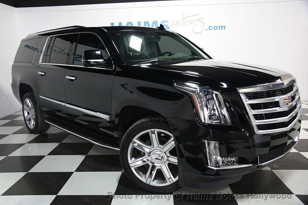 2016 used cadillac escalade esv 2wd 4dr luxury collection at haims motors ft lauderdale serving. Black Bedroom Furniture Sets. Home Design Ideas