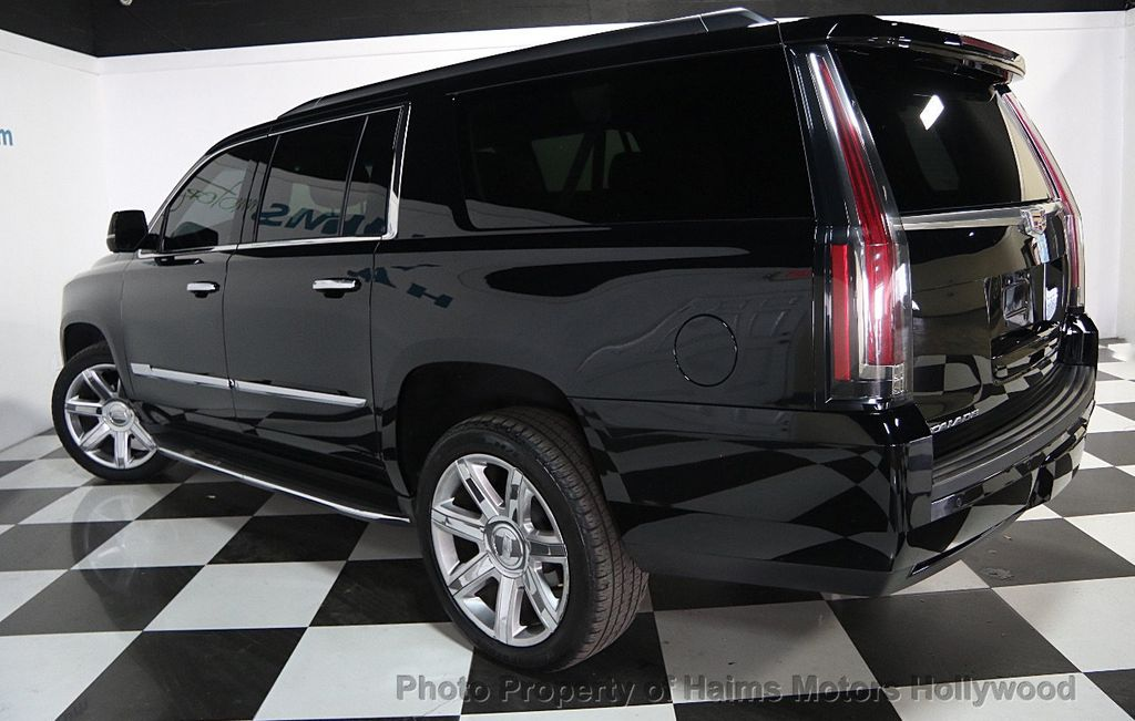 2016 used cadillac escalade esv 2wd 4dr luxury collection at haims motors hollywood serving fort. Black Bedroom Furniture Sets. Home Design Ideas