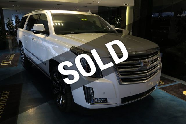 2016 Cadillac Escalade ESV 4WD 4dr Platinum