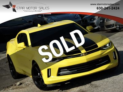 2016 Chevrolet Camaro 2dr Coupe 2LT