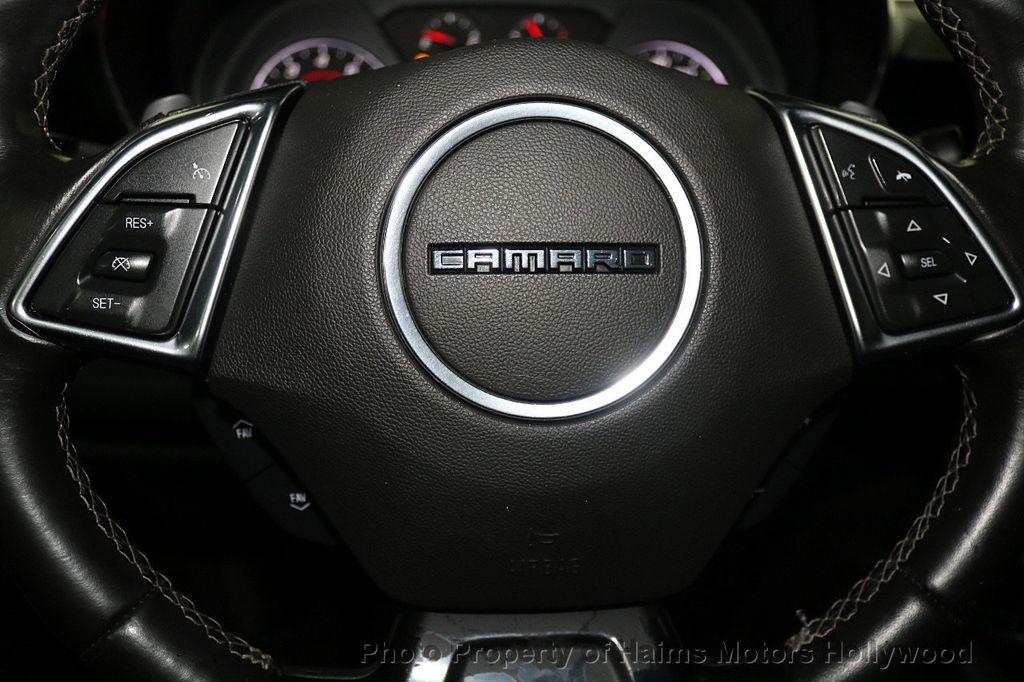 2016 Chevrolet Camaro 2dr Coupe LT w/1LT - 17907515 - 25