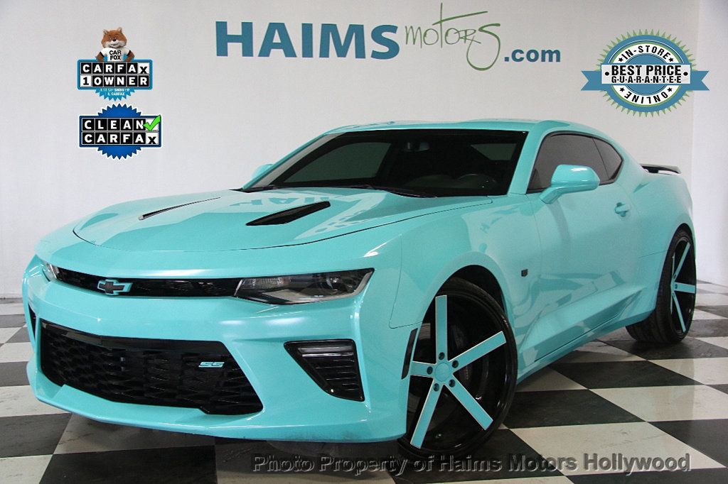 2016 Chevrolet Camaro 2dr Coupe SS w/1SS - 17241647 - 0