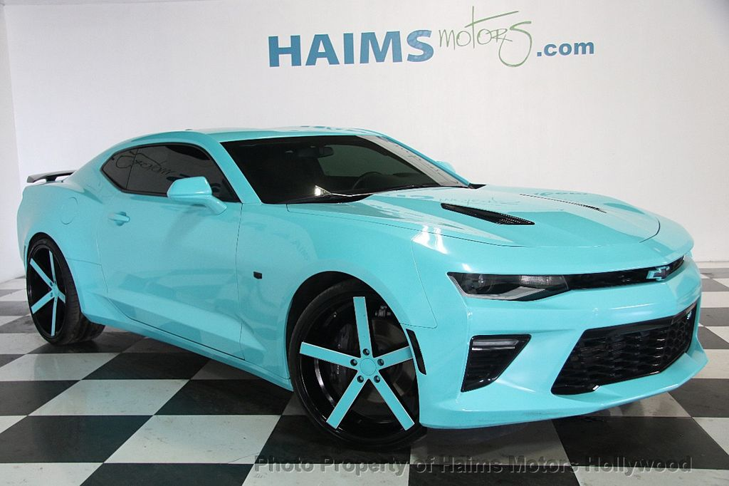 2016 used chevrolet camaro 2dr coupe ss w 1ss at haims motors