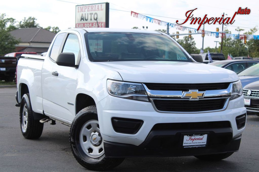 "2016 Chevrolet Colorado 2WD Ext Cab 128.3"" WT - 19208098 - 0"