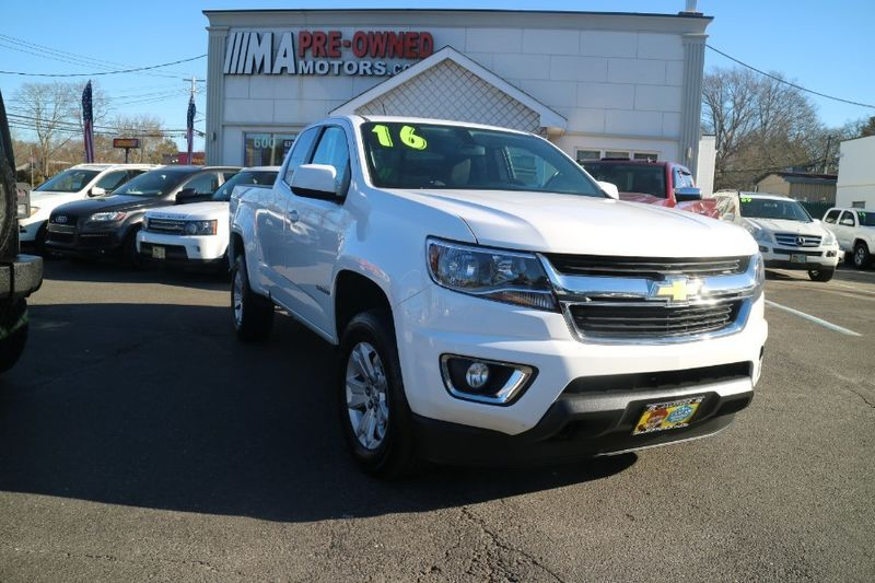 2016 Used Chevrolet Colorado 4wd Ext Cab 128 3 Lt At Webe Autos Serving Long Island Ny Iid 17261461