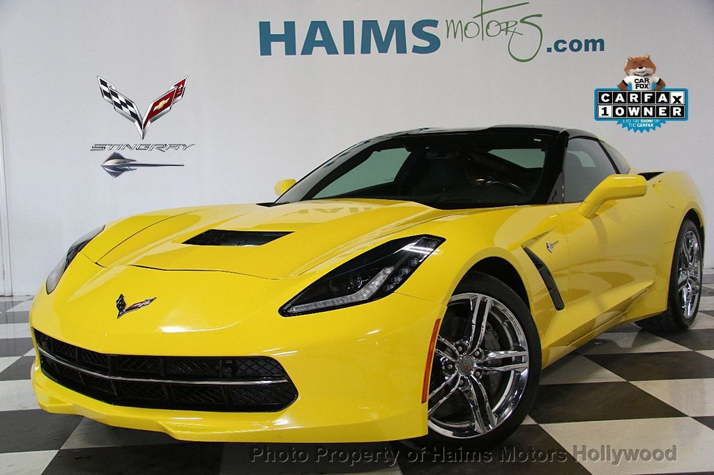 2016 Chevrolet Corvette 2dr Stingray Coupe w/3LT - 17256797 - 0