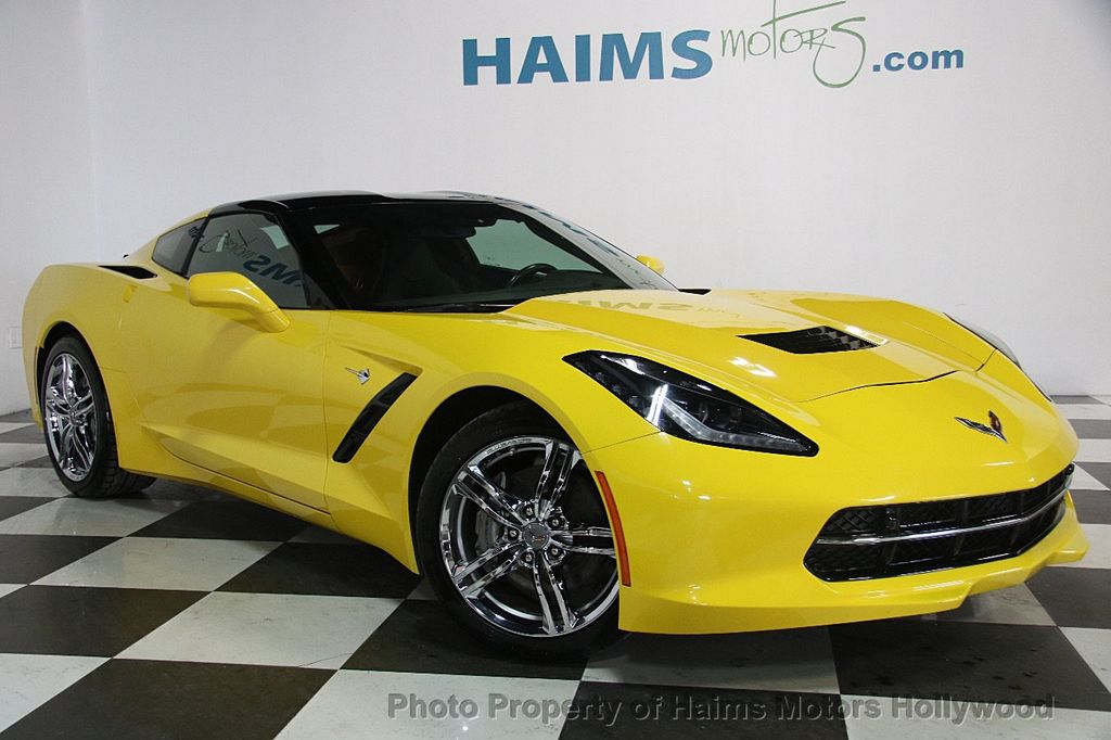 2016 Chevrolet Corvette 2dr Stingray Coupe w/3LT - 17256797 - 3