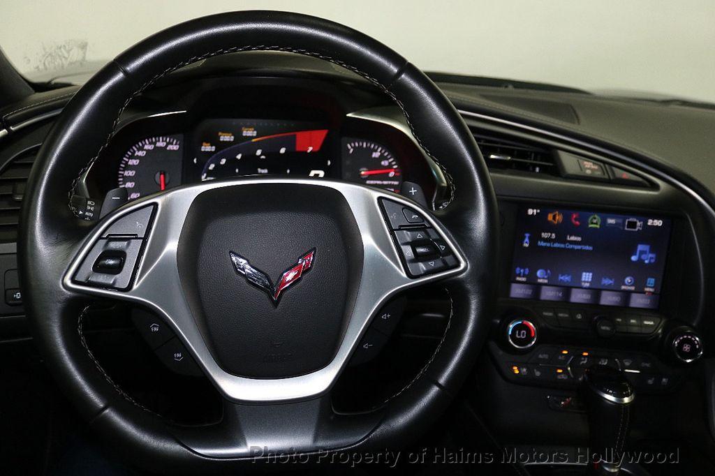 2016 Chevrolet Corvette 2dr Stingray Coupe w/3LT - 17842753 - 25
