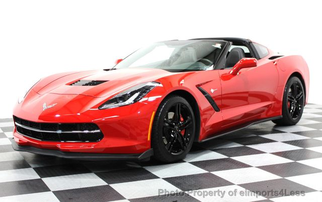 2016 Chevrolet Corvette CERTIFIED CORVETTE 1LT COUPE 7 SPEED MANUAL - 16225200 - 0