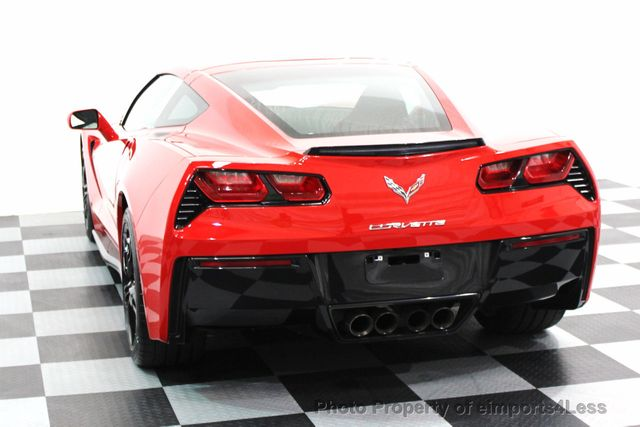 2016 Chevrolet Corvette CERTIFIED CORVETTE 1LT COUPE 7 SPEED MANUAL - 16225200 - 13