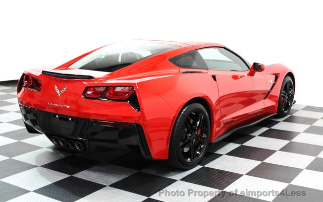 2016 Chevrolet Corvette CERTIFIED CORVETTE 1LT COUPE 7 SPEED MANUAL - 16225200 - 16