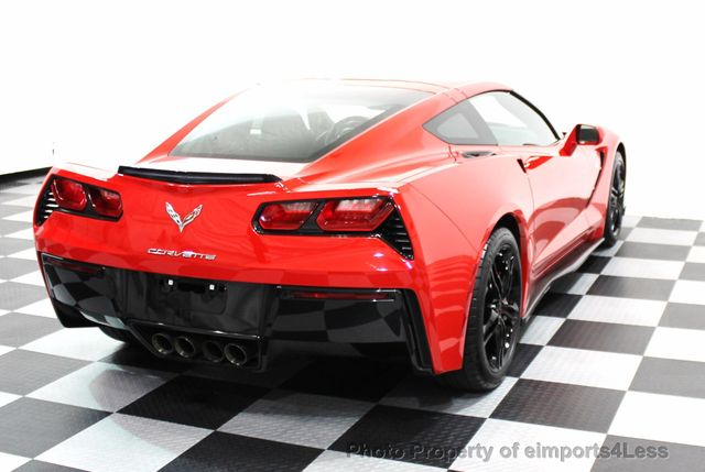 2016 Chevrolet Corvette CERTIFIED CORVETTE 1LT COUPE 7 SPEED MANUAL - 16225200 - 17